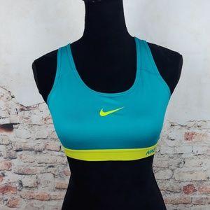 Nike Dri Fit Nike Pro Sports M M Green Bra